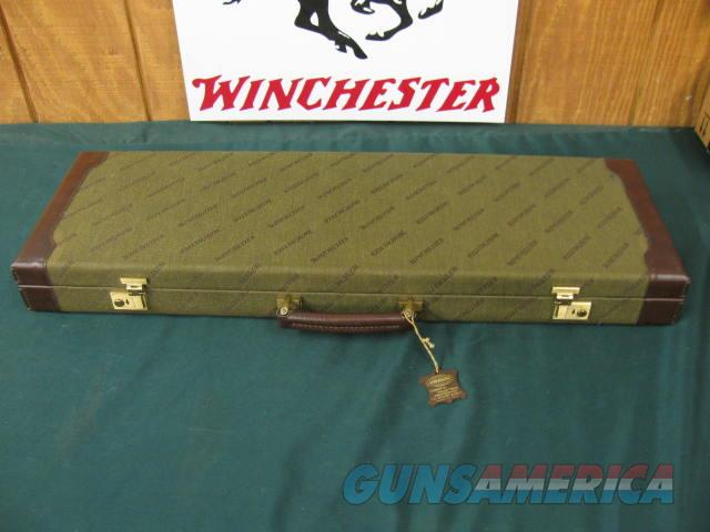 6317 Winchester 101 NATIONAL WILD TURKEY FEDERATION,3inch 6 winchokes, m, im  2f 2xf, wrench 2 pouches, HANG TAG,KEYS, AAA++FANCY HIGHLY FIGURED WALNUT, 2 Turkeys engraved on coin silver receiver, GOLD TURKEY raised relief receiver bottom,o  Guns > Shotguns > Winchester Shotguns - Modern > O/U > Hunting
