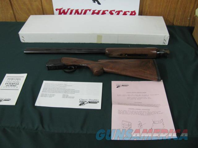 6375 Classic Doubles 101 Field 20 gauge 28 inch barrels, 3 inch chambers screw chokes ic/mod,ejectors, vent rib, butt pad,  NEW IN BOX WITH PAPERS, blue rose/scroll engraved receiver, adjustable trigger, AA++ FANCY HIGHLY FIGURED WALNUT, UN  Guns > Shotguns > Classic Doubles Shotguns