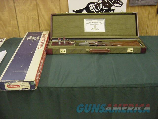 4828 Winchester 23 Pigseon XTR 20ga 28bls m/f 99% Wincased and box  Guns > Shotguns > Winchester Shotguns - Modern > SxS