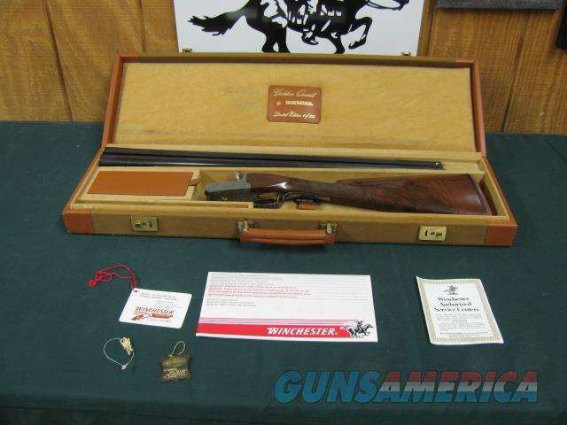 5928 Winchester 23 Golden Quail 12ga 26bls ic/mod AS New in Case AA+ FANCY  Hang tag all papers  Guns > Shotguns > Winchester Shotguns - Modern > SxS