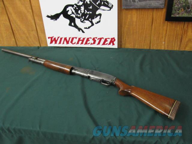 """6686 Winchester model 12 12 gauge 30 inch barrel 3 inch chamber""""for superspeed & super-x"""" 3 inch, stamped on barrel, wood stock extension, good condition,nice Pachmayr soft pad, 14 lop. bore brite shiny action tite  Guns > Shotguns > Winchester Shotguns - Modern > Pump Action > Hunting"""