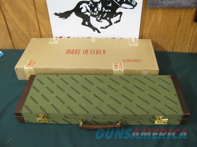 6387 Winchester model 101or  23 case--NEW OLD STOCK DEC 1987--INCLUDES KEYS & ORIGINAL SHIPPING BOX. WILL TAKE ANY GAUGE WILL TAKE 26 INCH BARRELS. NONE FINER  Non-Guns > Gun Cases