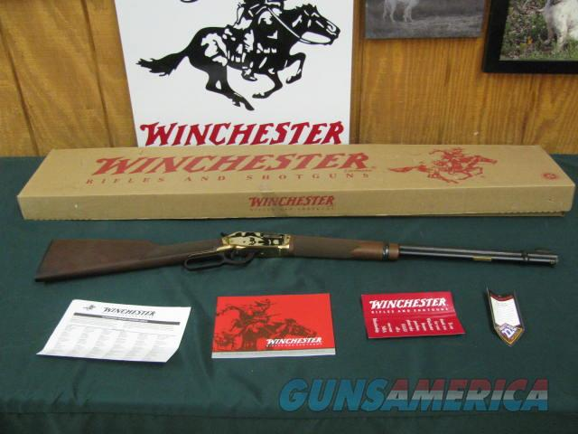 6788 Winchester 9422 22 MAGNUM YELLOW BOY traditional, RARE NEW IN BOX. 20 inch barrel, unfired, serialized to the box, hang tag and all papers,---RARE--- NEW IN BOX, ALL ORIGINAL, UNFIRED. DONT MISS THIS one  Guns > Rifles > Winchester Rifles - Modern Lever > Model 94 > Post-64