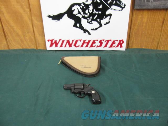 5952 Colt Commando Special 38 special 2 inch barrel 98% condition all original  Guns > Pistols > Colt Double Action Revolvers- Modern