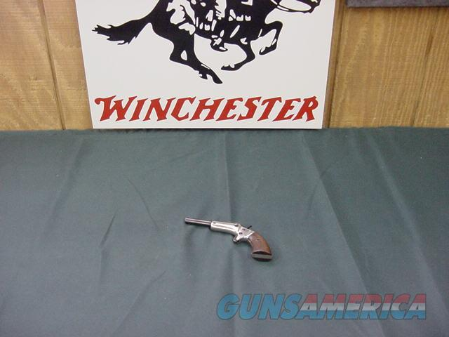 4938 Stevens pocket pistol 22 short 3.5bl nickel/walnunt excellent  Guns > Pistols > Stevens Pistols