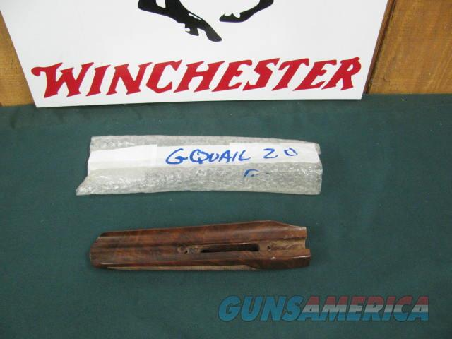 6928 Winchester model 23 Golden Quail 20 gauge forend, NOS, 100% new. A+fancy.not a mark on it,fancy figured.  Non-Guns > Gunstocks, Grips & Wood