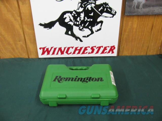 6072 Remington R1S 45 auto 5 inch barrel, 2 mags hold 7 rounds each,STAINLESS STEEL, AS NEW IN CASE WITH PAPERS, SHOT 10 ROUNDS ONLY,double diamond wood checkered grips,3 dot sites, 38.5 ounces. flared and lowered ramp. you will like this o  Guns > Pistols > Remington Pistols - Modern > 1911
