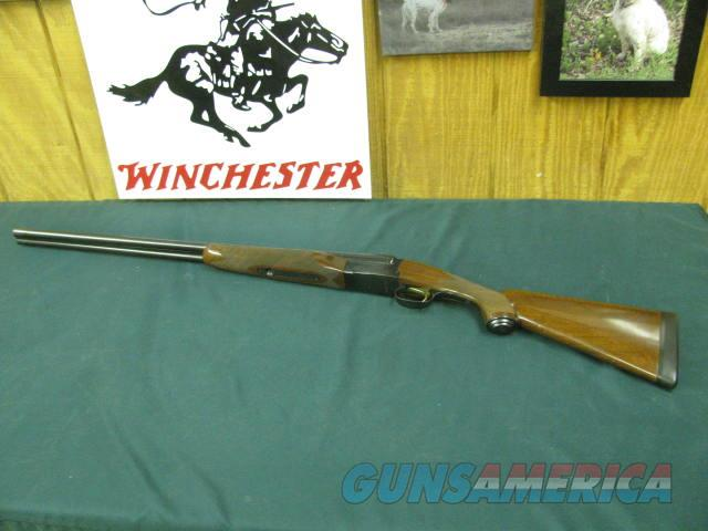 6784 Winchester model 23 LIGHT DUCK 20 gauge, 28 inch barrels ic/mod, 98% condition, single select trigger, Winchester butt pad, pistol grip with cap, solid rib, ejectors, only 500 mfg, this is # 175. bores/brite/shiny, AA+Fancy figured wal  Guns > Shotguns > Winchester Shotguns - Modern > SxS