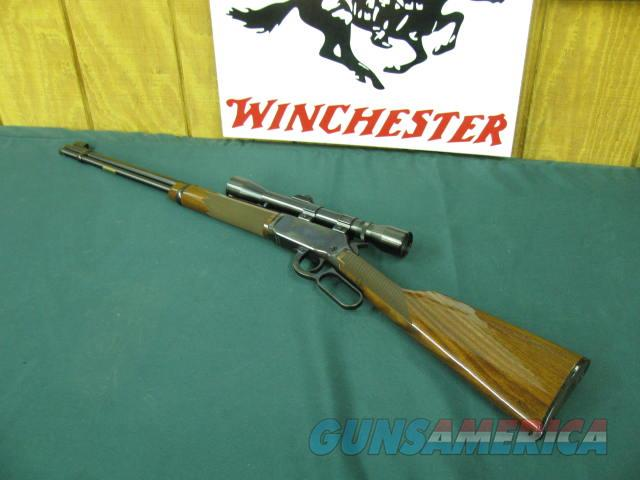6066 Winchester 9422M 22 Mag Deluxe rifle with WEAVER 4X SCOPE  Guns > Rifles > Winchester Rifles - Modern Lever > Model 94 > Post-64