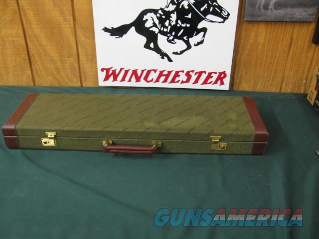 6623 Winchester 23 Pigeon XTr 12 gauge 26 inch barrels, ic/mod, round knob, ejectors, single select trigger, vent rib,Winchester butt pad, All origianl, Rose and scroll engraved coin silver receiver, A+ FANCY WALNUT, correct Winchester case  Guns > Shotguns > Winchester Shotguns - Modern > SxS