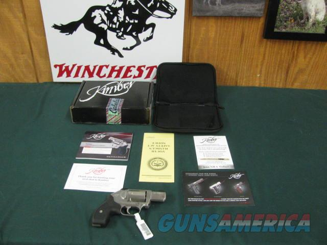 6782 Kimber K6S 357 Magnum 2 inch barrel, stainless steel, white sites, rubber grips, NEW IN BOX, all papers, tag still on it. unfired.  Guns > Pistols > Kimber of America Pistols > Revolvers