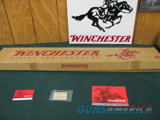 6199 Winchester 94 Legacy 30/30 24 inch barrel, semi buckhorn site, NEW IN BOX WITH ALL PAPERS, last made 2006. nice straight grain stock and forend, not a mark on it. comes with correct serialized box hang tag and papers.  Guns > Rifles > Winchester Rifles - Modern Lever > Model 94 > Post-64
