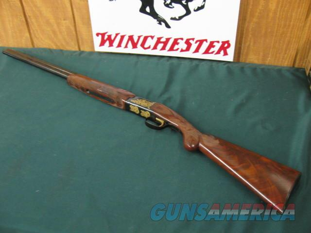 "6273 Winchester 101 TEXAS SESQUICENTENNIAL 20 gauge 27 inch barrels ic/mod,ONLY 100 WERE MADE IN 1986.AA+ FANCY WALNUT,""1 OF 100 FOR TEXAS"" IN GOLD ON BOTTOM OF RECEIVER, butt pad, all original, GOLD MAP OF TEXAS AND TEXAS STATE SEAL ON DAR  Guns > Shotguns > Winchester Shotguns - Modern > O/U > Hunting"