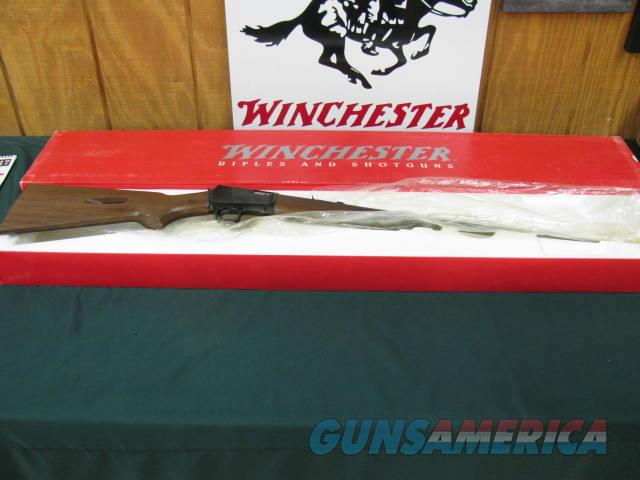 6089 Winchester 63 22 long rifle 10 round tube,23 inch barrel, NEW IN BOX, unfired, 1997-98 mfg.all original.nice grain in walnut stock.  Guns > Rifles > Winchester Rifles - Modern Bolt/Auto/Single > Autoloaders