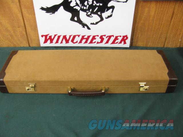 6653 Winchester 23 Golden Quail 28 gauge 26 inch barrels,ic/mod raised solid rib, ejectors, STRAIGHT GRIP,single selective trigger, quail/dogs engraved coin silver receiver, Decelerato butt pad, Winchester Case, keys, 99% condition, AA+++Fa  Guns > Shotguns > Winchester Shotguns - Modern > SxS