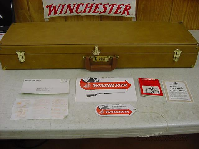 4037 Winchester Model 23 case and ALL PAPERS  Non-Guns > Gun Cases