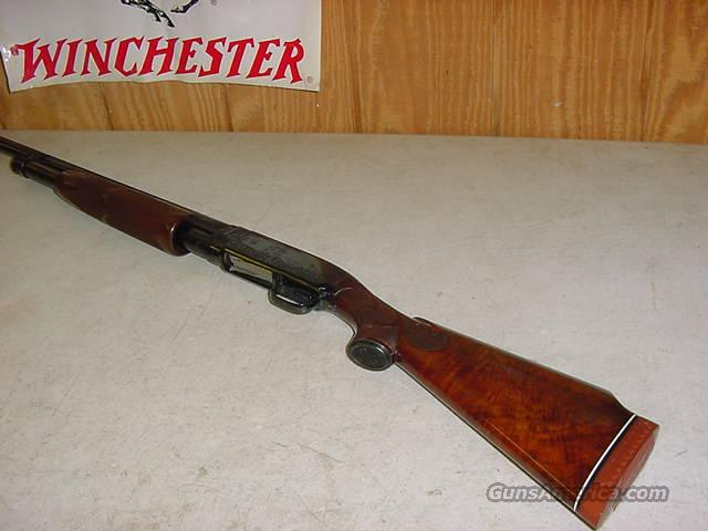 4017 Winchester Pigeon Model 12 STYLE ENGRAVED  Guns > Shotguns > Winchester Shotguns - Modern > Pump Action > Hunting