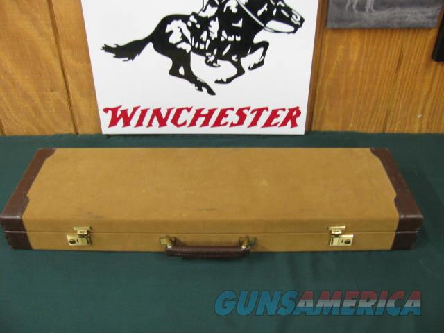 6369 Winchester model 23 GOLDEN QUAIL  28 gauge 26 inch barrels ic/mod, solid rib, single select trigger, STRAIGHT GRIP, AAA+FANCY HIGHLY FIGURED TIGER STRIPED WALNUT,Winchester butt pad, all original 99% condition Correct Winchester Golden  Guns > Shotguns > Winchester Shotguns - Modern > SxS