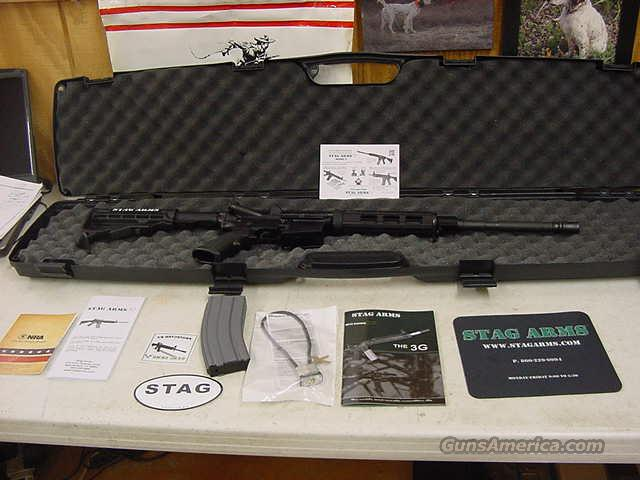 3878 STAG ARMS AR Model 3 STAG 15 NIC  Guns > Rifles > Stag Arms > Complete Rifles
