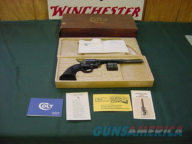 4819 Colt Peacemaker Buntline Dual cylinder 22 lr 22mag NEW IN BOX  Guns > Pistols > Colt Double Action Revolvers- Modern