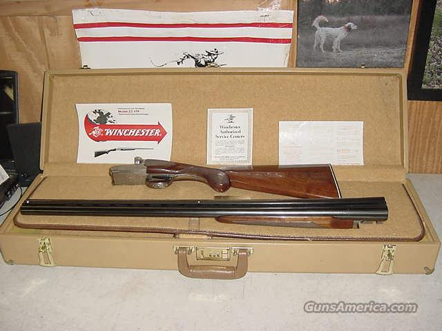 3895 Winchester Model 23 Pigeon XTR 12g 28bl  99% cased/papers  Guns > Shotguns > Winchester Shotguns - Modern > SxS