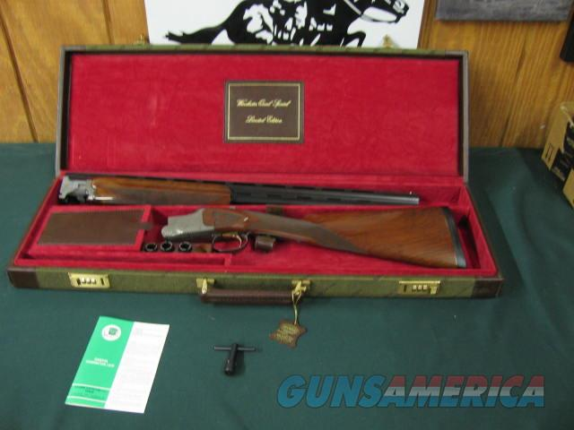 6537 Winchester 101 Quail Special 20 gauge 25 inch barrels 2 3/4 & 3 inch chambers, 5 winchokes 2sk,ic m f,wrench STRAIGHT GRIP,Winchester butt pad, ALL ORIGINAL, correct Winchester Case and matching Winchester box, 99% condition, AA+Fancy   Guns > Shotguns > Winchester Shotguns - Modern > O/U > Hunting