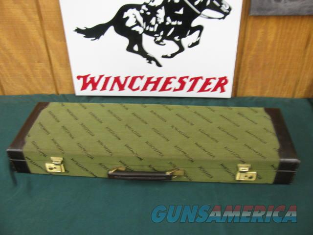 6084 Winchester 101 Quail Special case, with key, as new at 99%, will take any gauge and 26 inch barrels, only 500 mfg 1984-87  Non-Guns > Gun Cases
