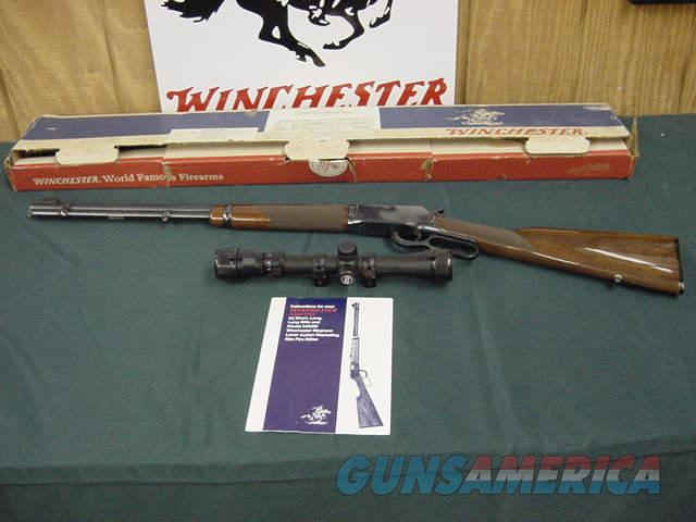 4681 Winchester 9422 XTR 22 s l lr scope box Paper NIB  Guns > Rifles > Winchester Rifles - Modern Lever > Model 94 > Post-64