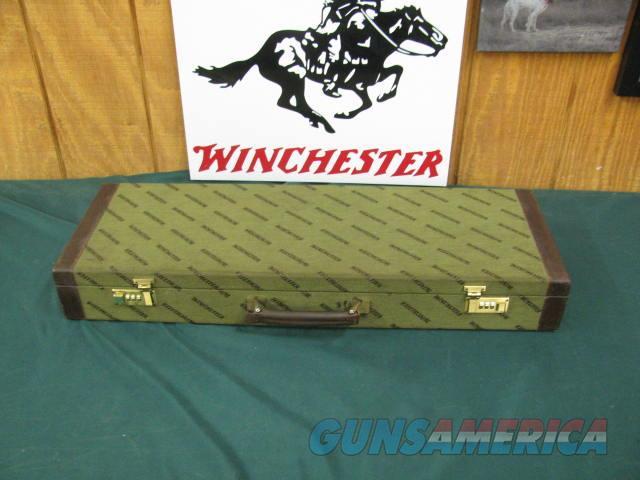 6764 Winchester 101 Grade 2 Barrel Hunt set,12ga/28 inch barrel, extended chokes sk ic mod,flush sk ic 3 m f xf, 20 gauge barrel 26 inch extended skeet choke, flush chokes ic m full, 14 chokes total,Winchester brochure, correct case, dark b  Guns > Shotguns > Winchester Shotguns - Modern > O/U > Hunting
