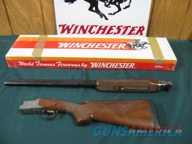6174 Winchester 101 Diamond Grade Skeet 20 gauge 27 inch barrels skeet/skeet, diamond engraved coin silver receiver, ported, 99% condition with correct serialized Winchester box. opens and closes tite, like new.   Guns > Shotguns > Winchester Shotguns - Modern > O/U > Hunting