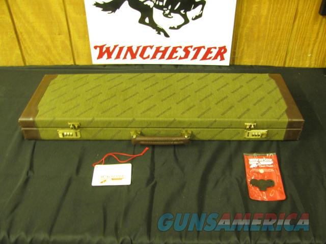 6668 Winchester 101 QUAIL SPECIAL 12 gauge 26 barrels sk ic m im f xf wrench 2 pouches, HANG TAG, CORRECT QUAIL SPECIAL CASE, 2 3/4 & 3 inch chambers, Winchester butt pad,vent rib ejectors STRAIGHT GRIP, all original,not a mark on it, 99% c  Guns > Shotguns > Winchester Shotguns - Modern > O/U > Hunting