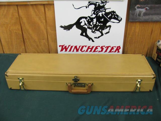 6187 Winchester 101 Pigeon XTR 12 guage 28 inch barrels, mod/full, round knob, rose and scroll engraved silver receiver, hang tag and papers and correct Winchester case A+ Walnut. 100% NEW IN CASE, TIME CAPSULE SURVIVOR, NONE FINER DONT MIS  Guns > Shotguns > Winchester Shotguns - Modern > O/U > Hunting