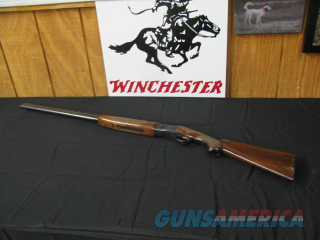 6659 Winchester 101 20 gauge 28 inch barrels, 2 3/4 & 3 inch chambers, mod/full, pistol grip ejectors, vent rib Winchester butt plate. handling marks 95% condition. all original, opens closes tite, bores brite/shiny.  Guns > Shotguns > Winchester Shotguns - Modern > O/U > Hunting