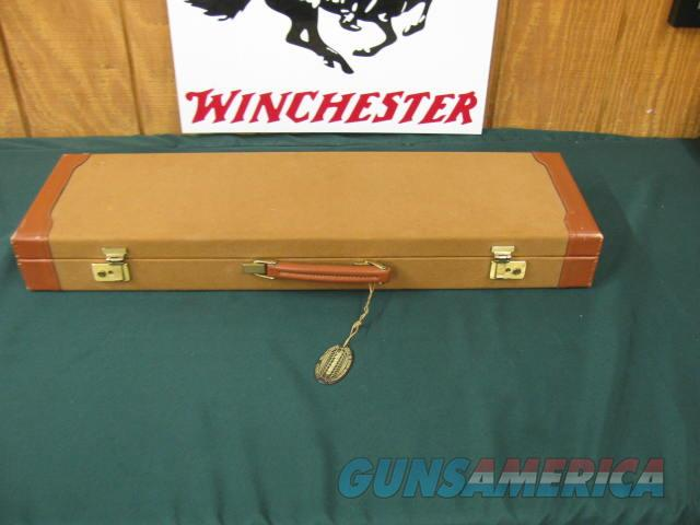 6384 Winchester 23 Golden Quail 410 gauge 26 inch barrels 2 1/2 & 3 inch chambers,mod/full, solid rib, ejectors, STRAIGHT GRIP, AA ++ Fancy Walnut, Winchester pad, all original, correct Golden Quail case, none finer 99% condition, dont miss  Guns > Shotguns > Winchester Shotguns - Modern > SxS