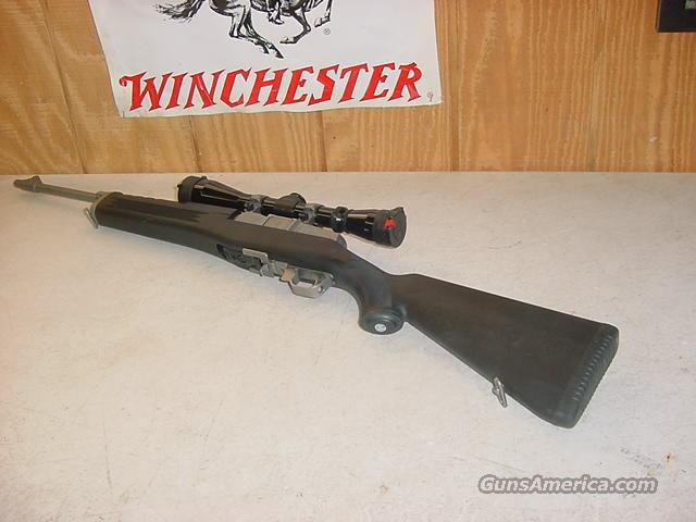 4180 Ruger Mini 14 Marine edition 223 caliber  Guns > Rifles > Ruger Rifles > Mini-14 Type