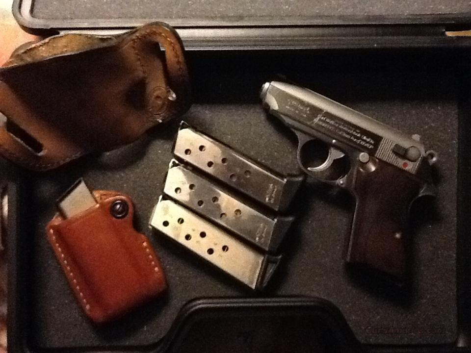 Walter PPKS stainless steel with custom wood grips  Guns > Pistols > Walther Pistols > Post WWII > PPK Series