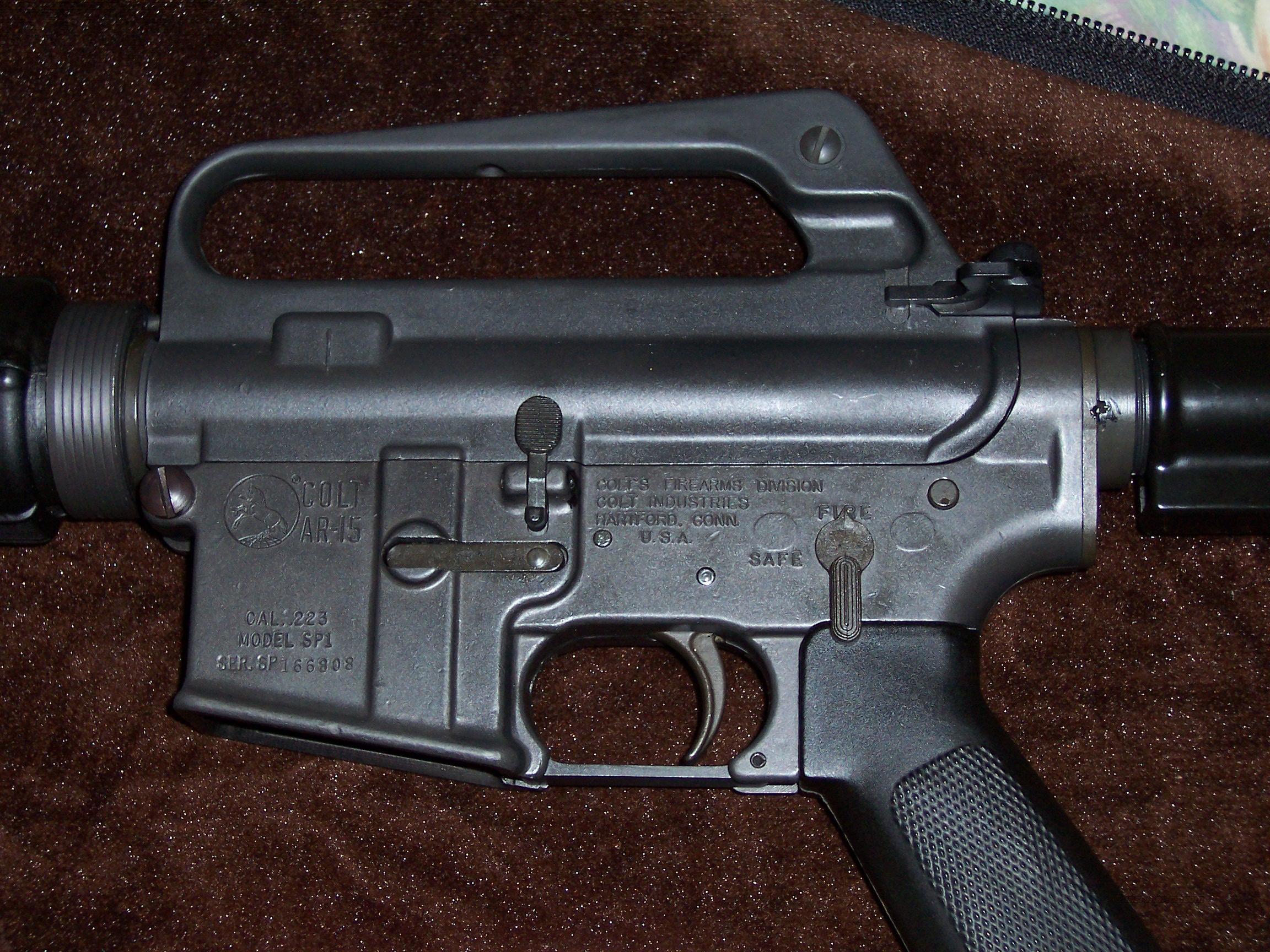 Colt Ar 15 Car 15 Sp1 Model For Sale