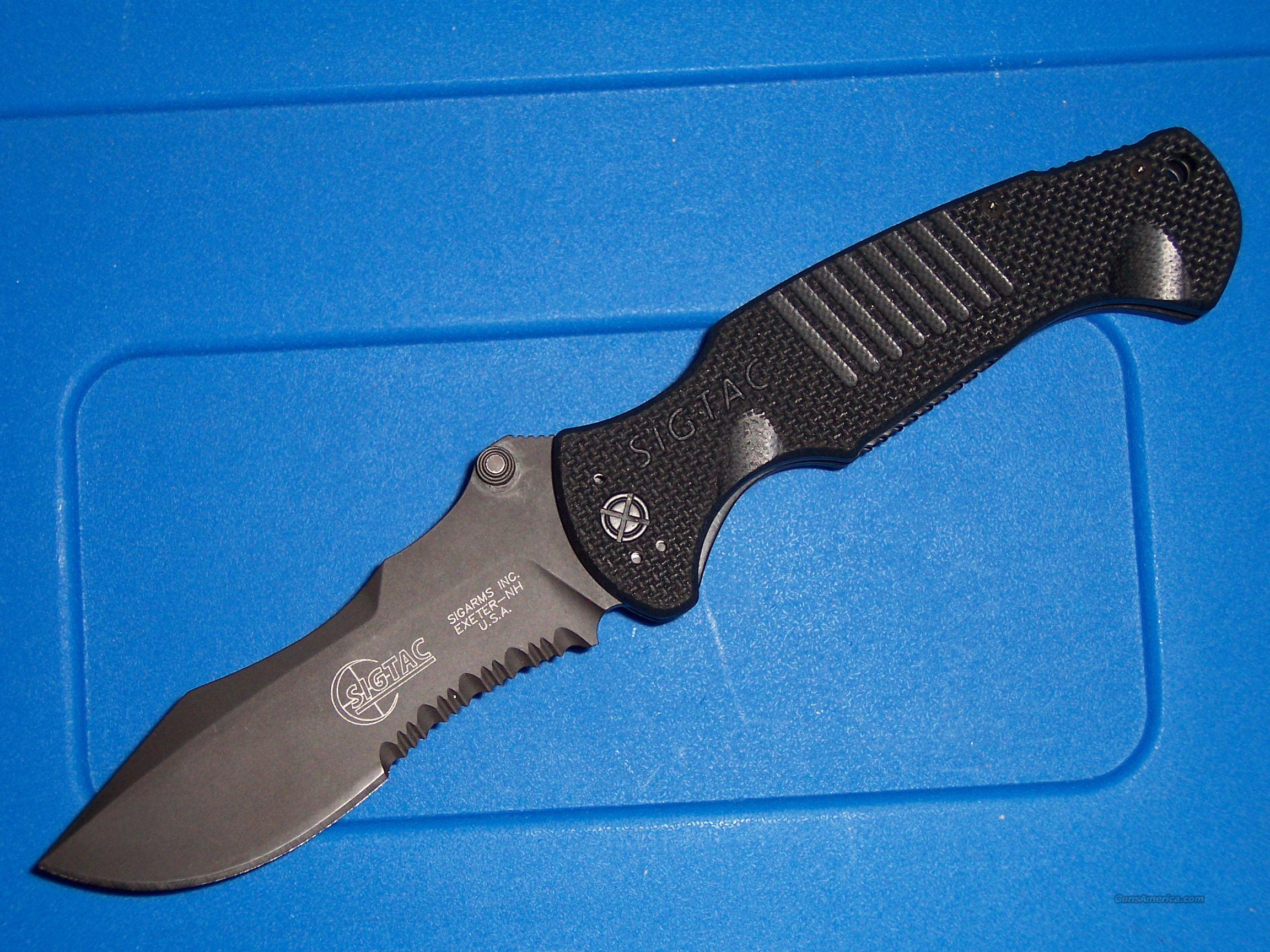 SIG SAUER TACT.PTERODACTYL FOLDER  Non-Guns > Knives/Swords > Knives > Folding Blade > Imported