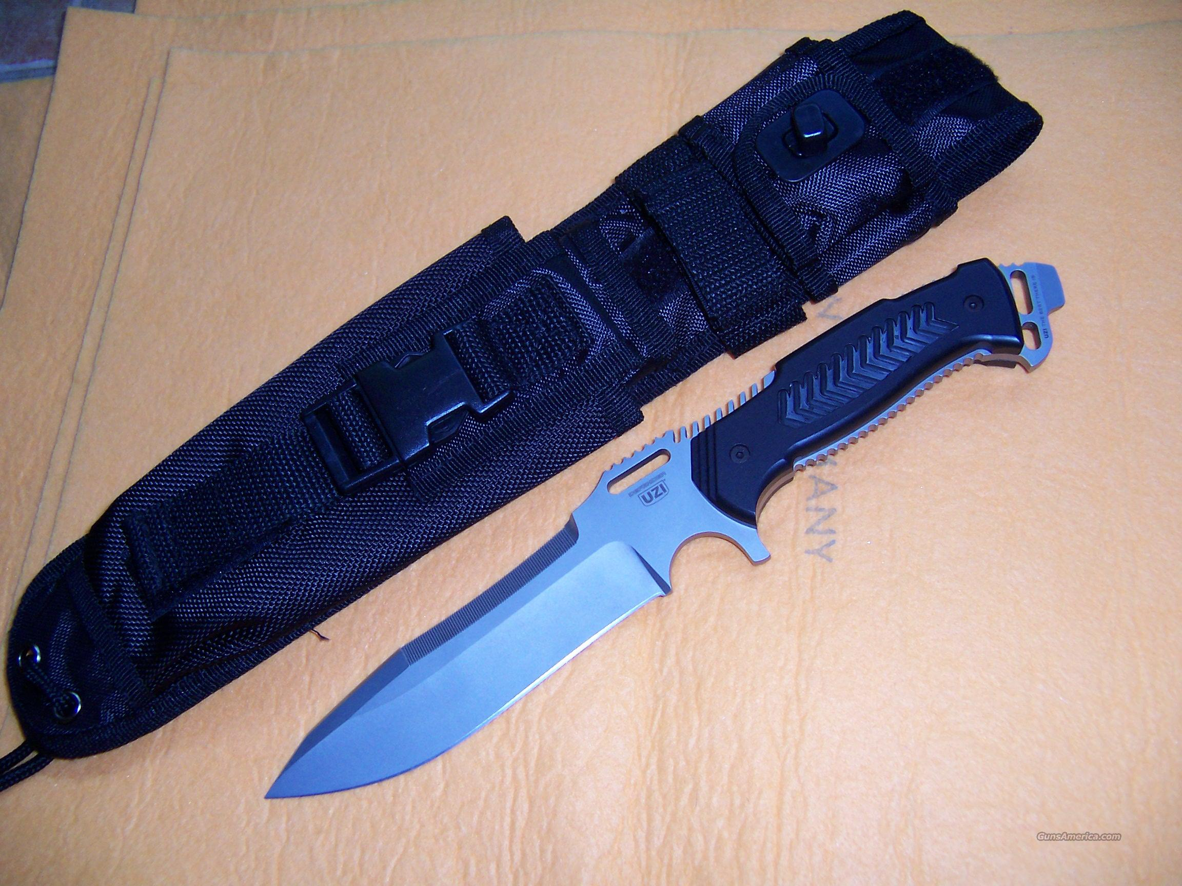 UZI DEFENDER TACTICAL KNIFE DESIGNED BY FRED CARTER  Non-Guns > Knives/Swords > Military > Non-Bayonets