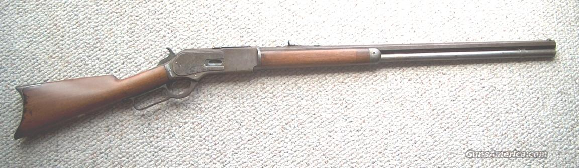 MODEL 1876 WINCHESTER RIFLE  Guns > Rifles > Winchester Rifles - Pre-1899 Lever