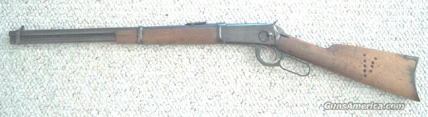 Original 1894 Winchester Saddle Ring Carbine  Guns > Rifles > Winchester Rifles - Modern Lever > Model 94 > Pre-64