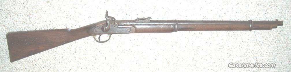 BRITISH VICTORIAN CAVALRY PERCUSSION CAP SADDLE CARBINE  Guns > Rifles > Muzzleloading Pre-1899 Rifles (perc)