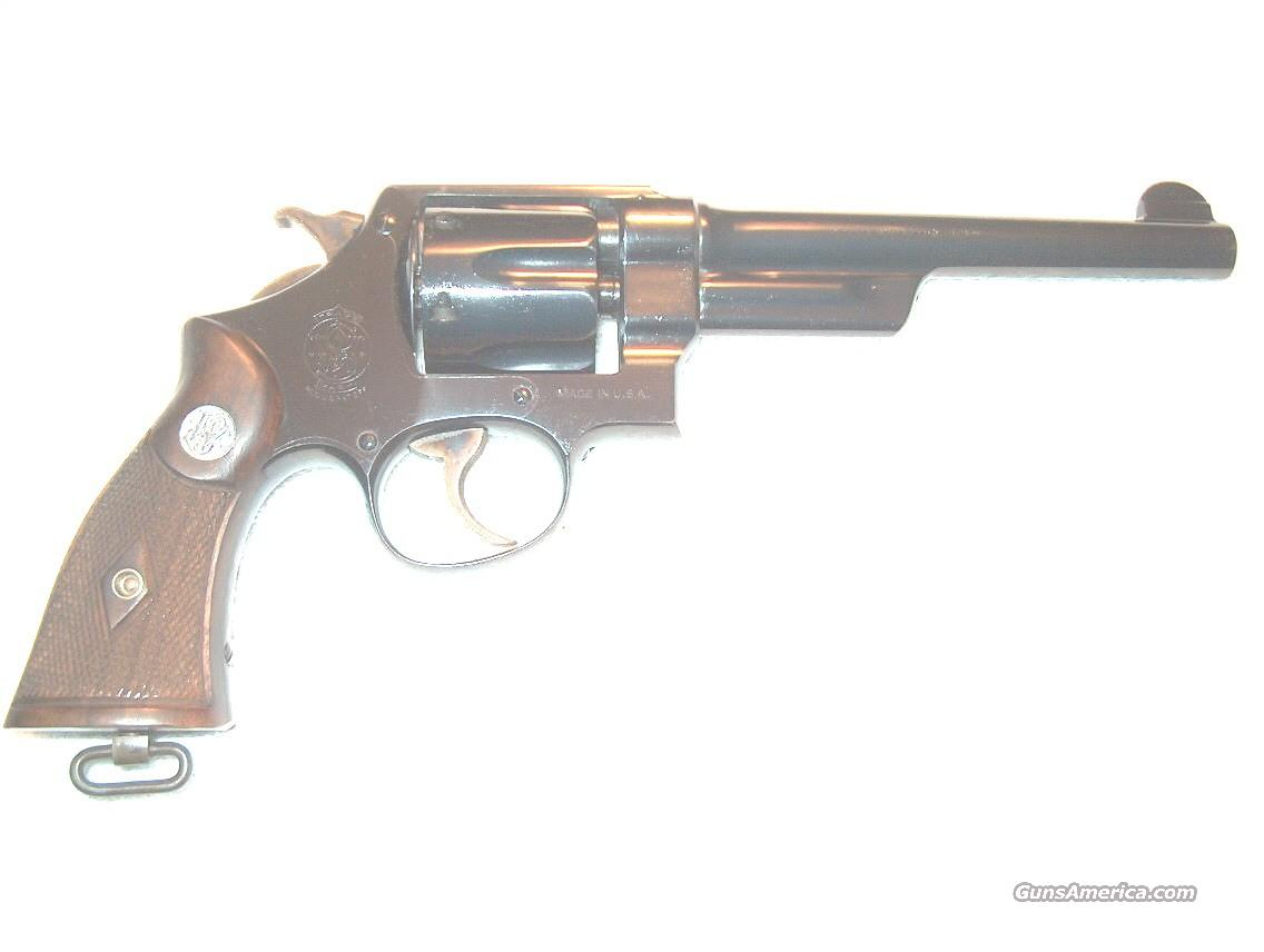 RARE WOLF & KLAR .44 HAND EJECTOR THIRD MODEL(MODEL OF 1926)  Guns > Pistols > Smith & Wesson Revolvers > Pre-1945