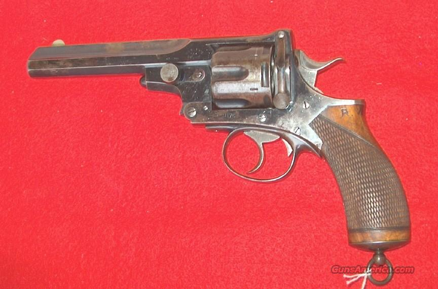ANTIQUE BRITISH OFFICER'S .476 CALIBER WEBLEY NO.4 (PRYSE TYPE) REVOLVER  Guns > Pistols > Webley Pistols