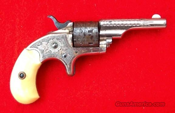 "ENGRAVED IVORY GRIPS COLT OLD LINE ""OPEN TOP"" 1872  Guns > Pistols > Colt Single Action Revolvers - 1st Gen."