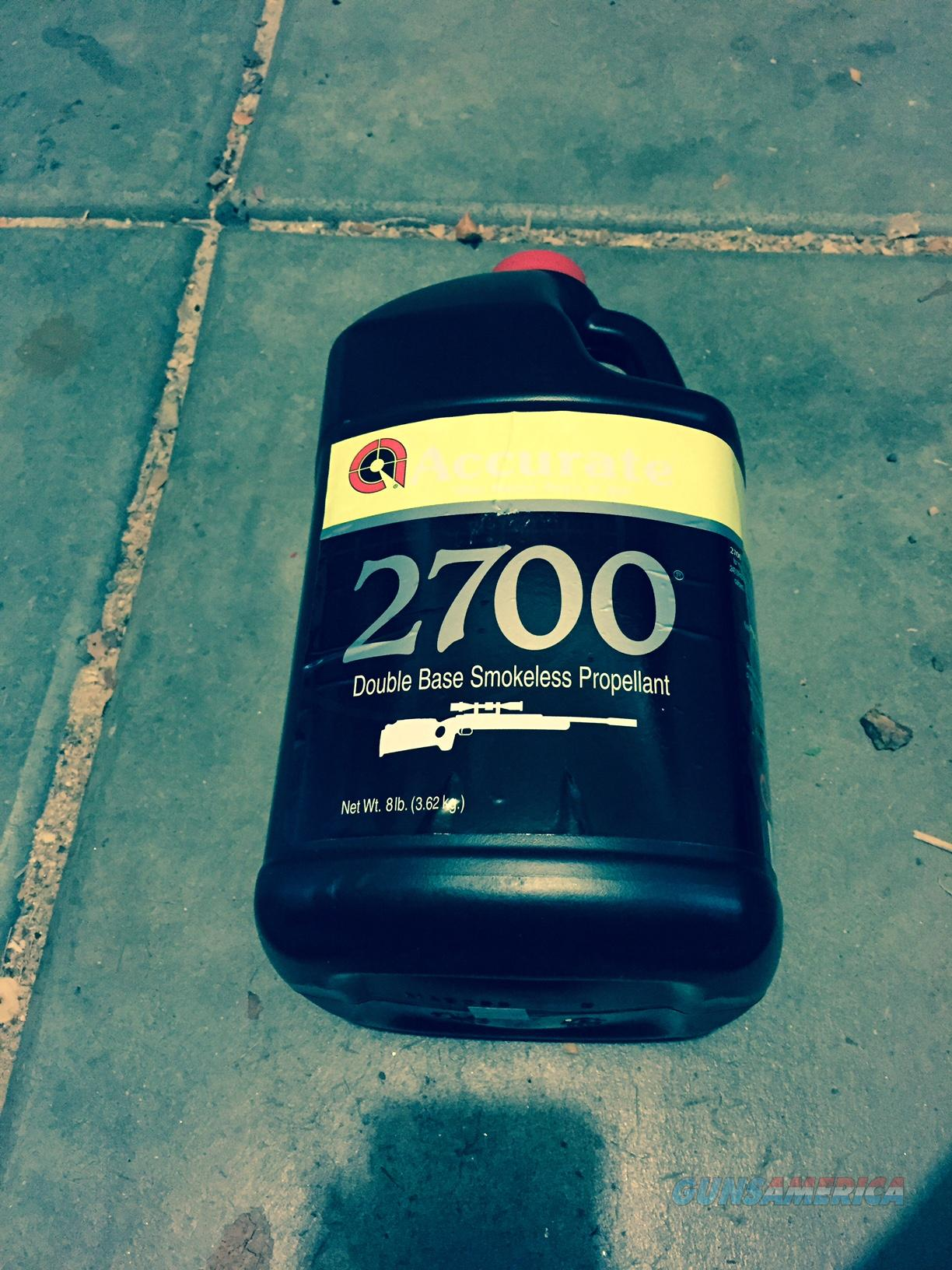 Brand New 8 Lb Keg of Accurate 2700 Smokeless Reloading Powder  Non-Guns > Reloading > Components > Other