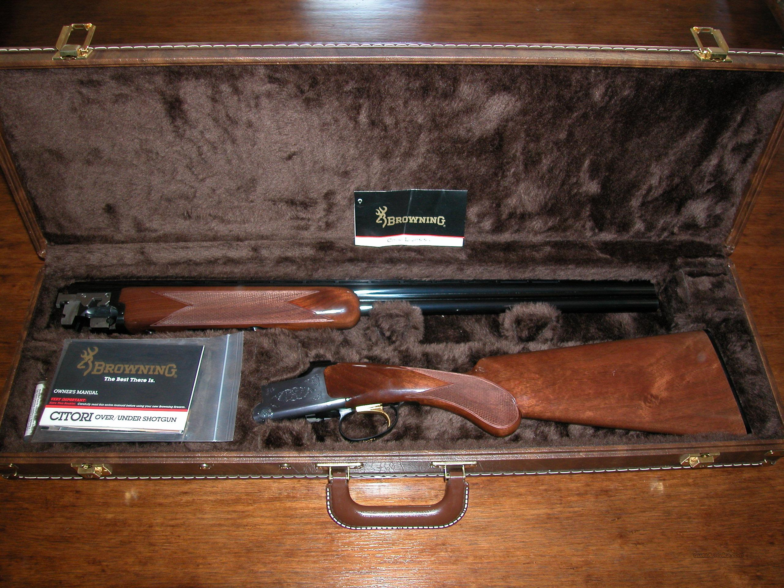 Browning Citori Lightning 28GA New  Guns > Shotguns > Browning Shotguns > Over Unders > Citori > Hunting