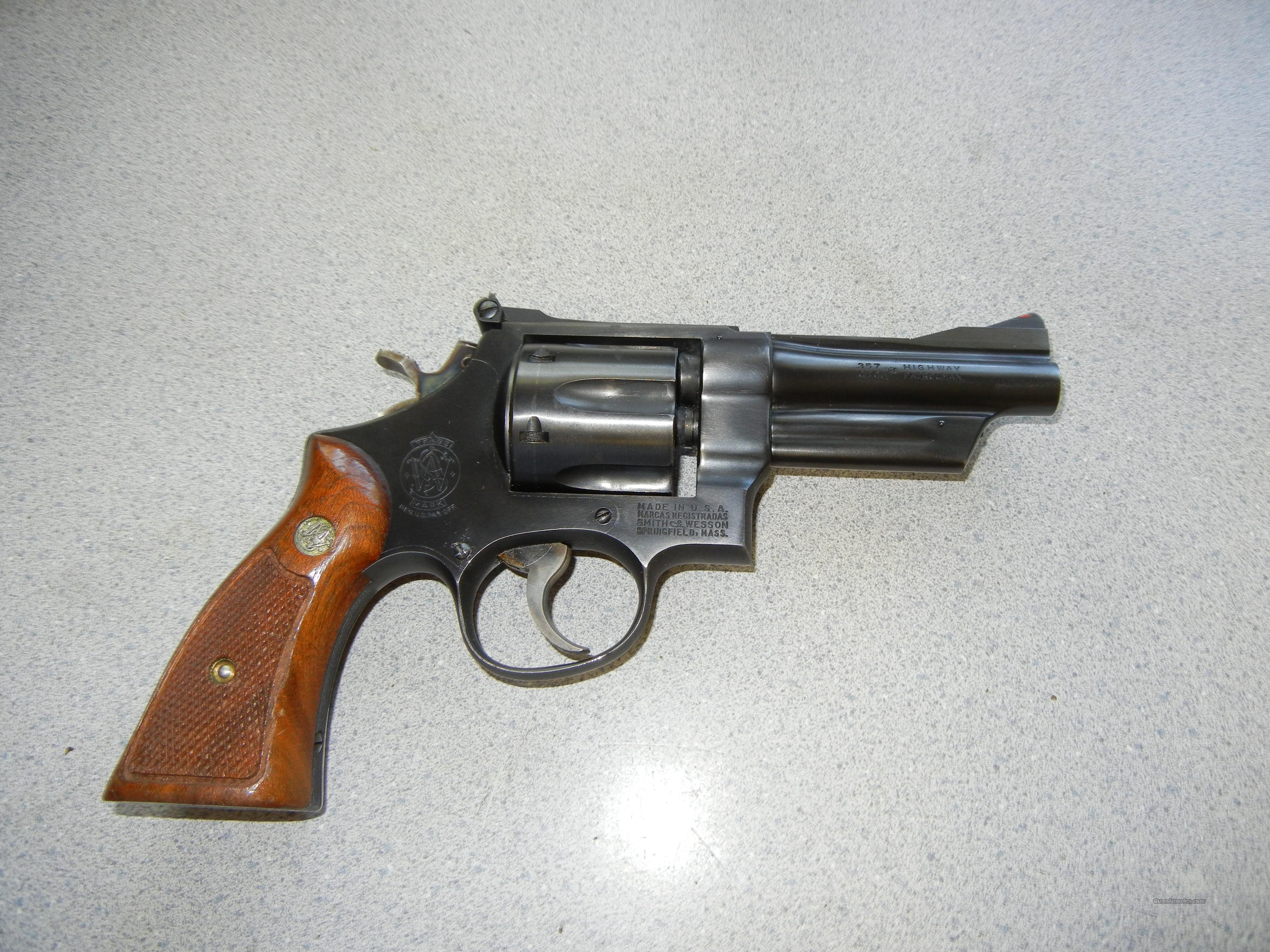 MODEL 28 HIGHWAY PATROLMAN  Guns > Pistols > Smith & Wesson Revolvers > Full Frame Revolver