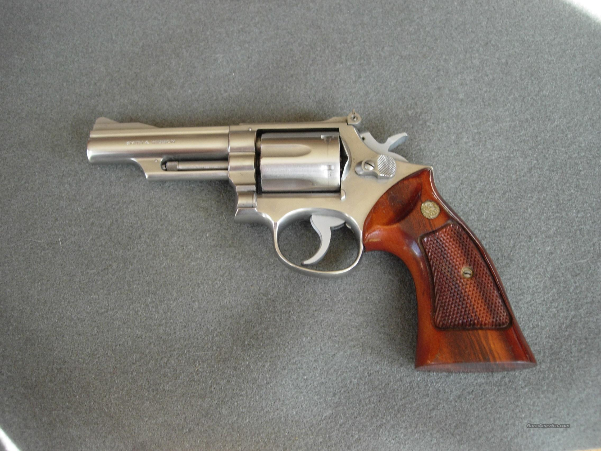 Smith and Wesson Model 66 4inch (no dash)  Guns > Pistols > Smith & Wesson Revolvers > Full Frame Revolver