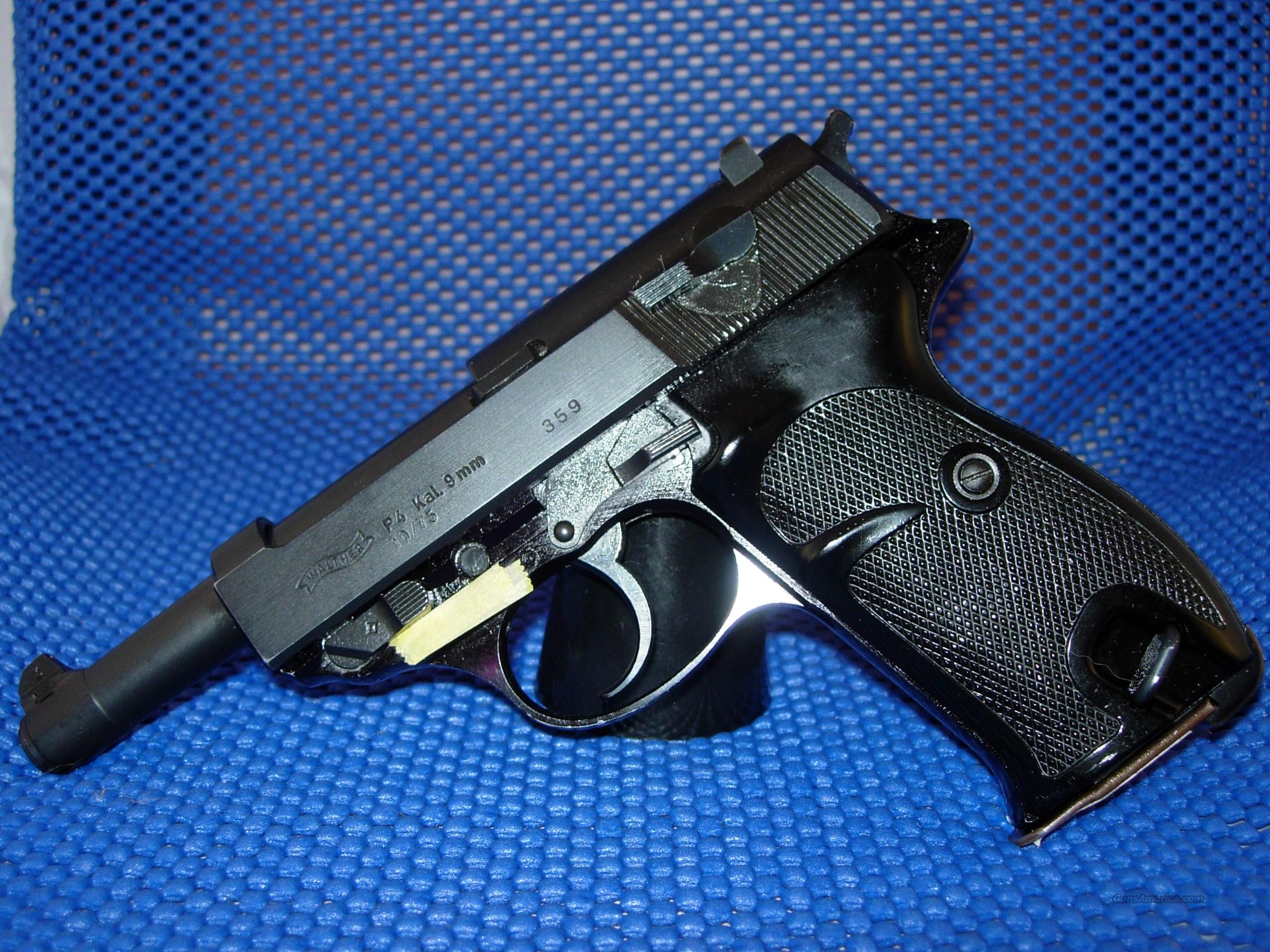 Walther P-4  Guns > Pistols > Walther Pistols > Post WWII > Large Frame Autos
